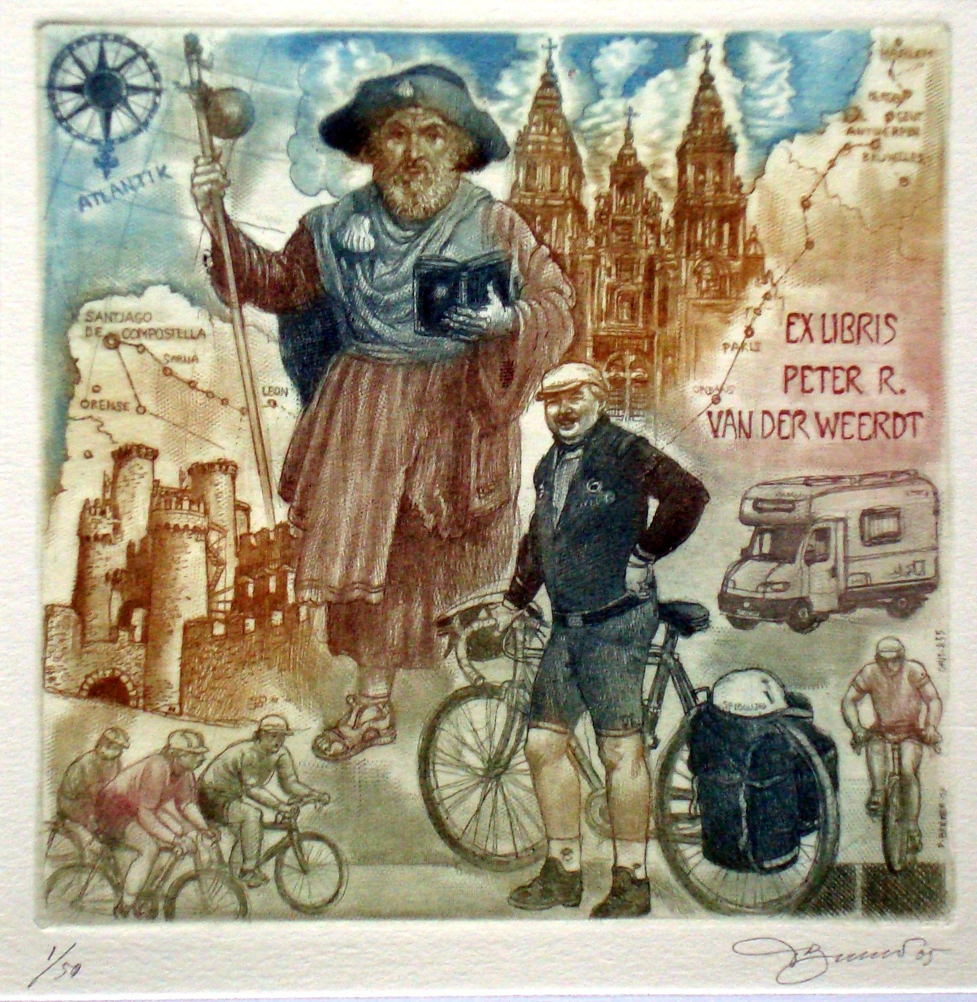 David Bekker: Fietstocht naar Santiago de Compostella