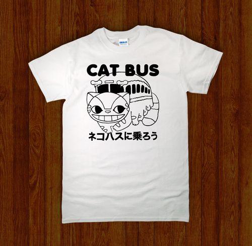Cat Bus Shirt Shirts Cats Bus Mens Tops
