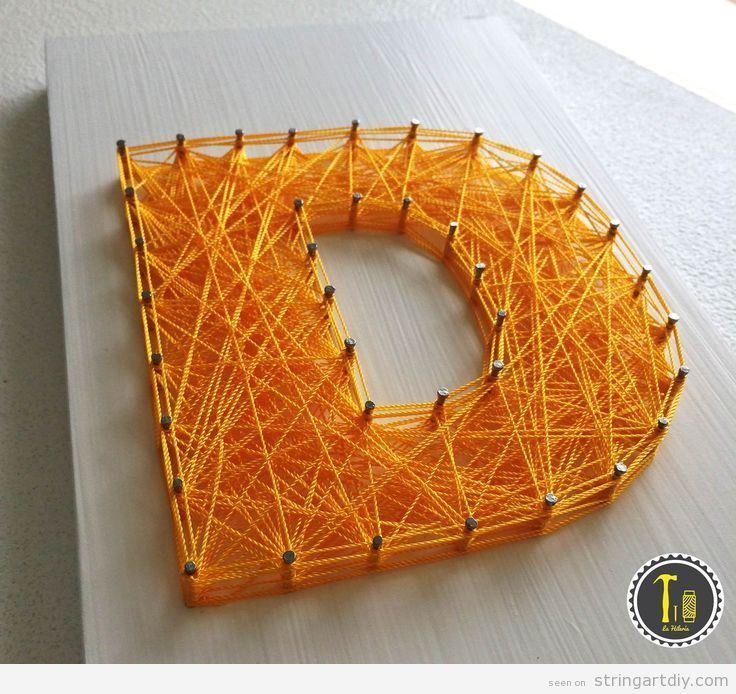 String Art DIY Ideas tutorials free