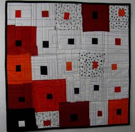 Marty In Motion: Architect's Dream: Quilt in Abstract