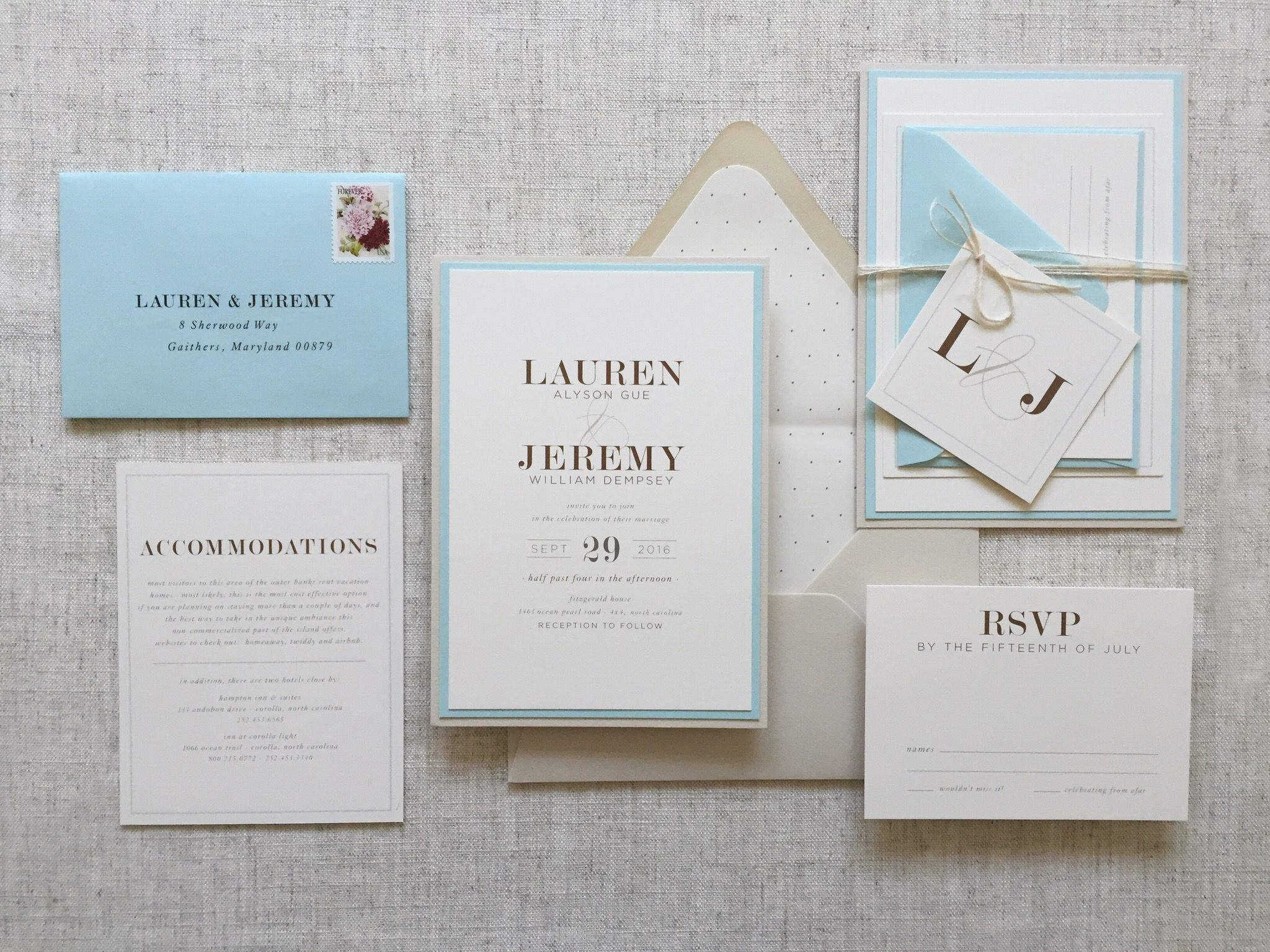 beach wedding invitation examples%0A Modern Invitation Suite  Pale Blue Invitation Suite  Beach Wedding  Invitation  Beach Wedding