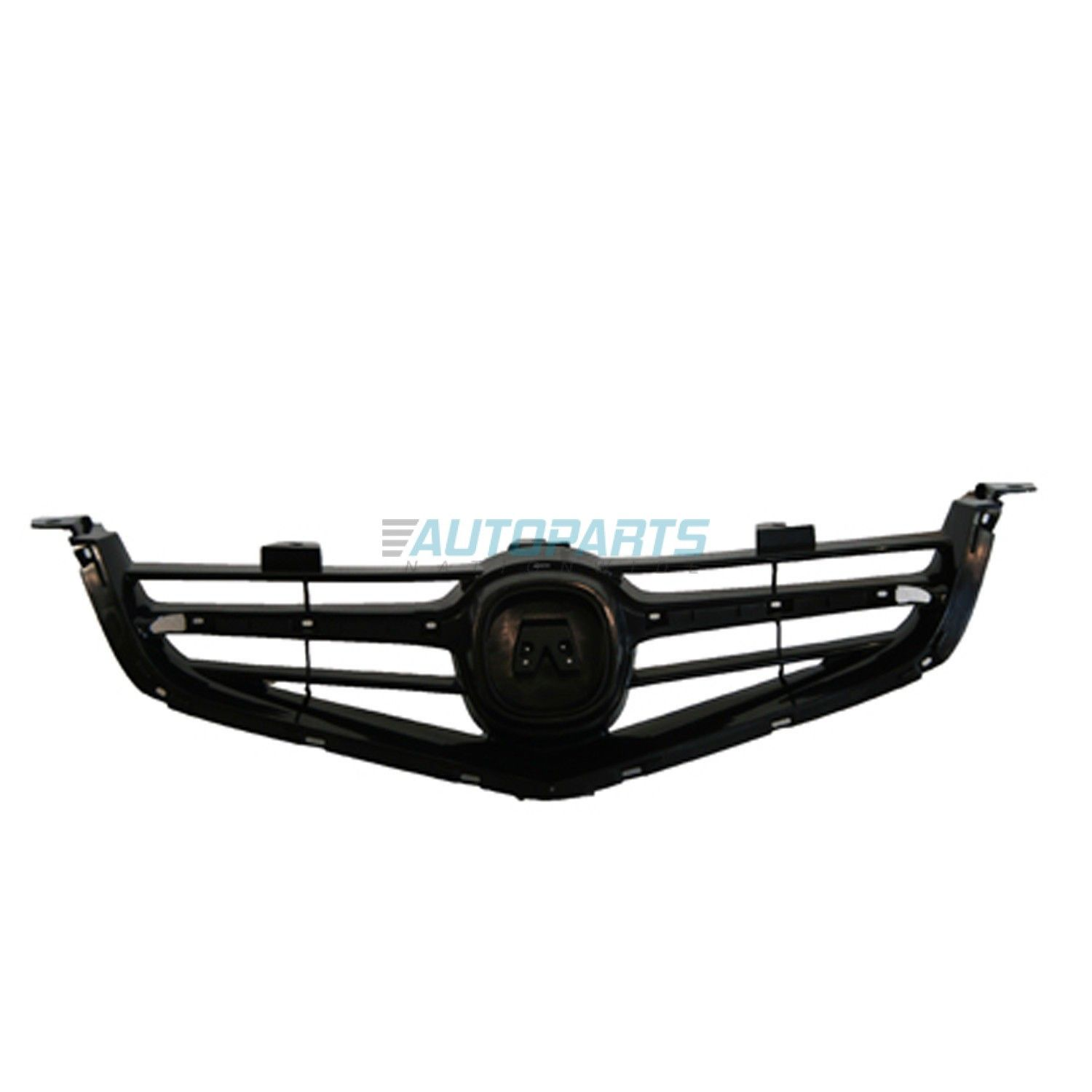 New Front Grille Matte-black Fits 2004-2005 Acura Tsx