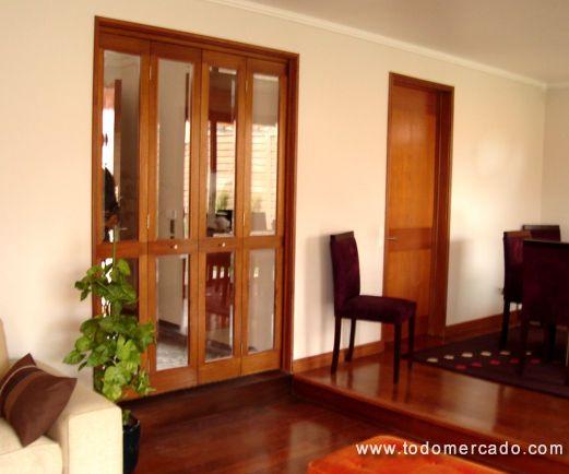 Fabrica de puertas de madera y mamparas a medida las for Fabrica puertas madera