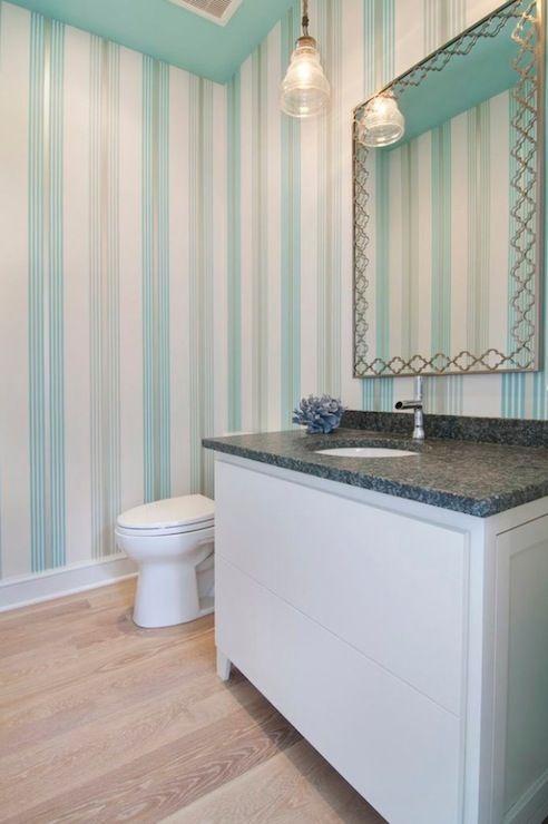 turquoise silver striped wallpaper dream house house of rh pinterest com