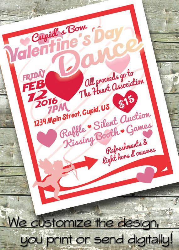 Valentine S Day Dance Benefit Community Event By Ditditdigital