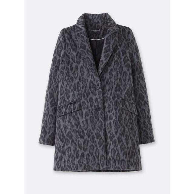 Manteau femme imprimé léopard CYRILLUS   Manteaux   Pinterest 68b9555fbd4a