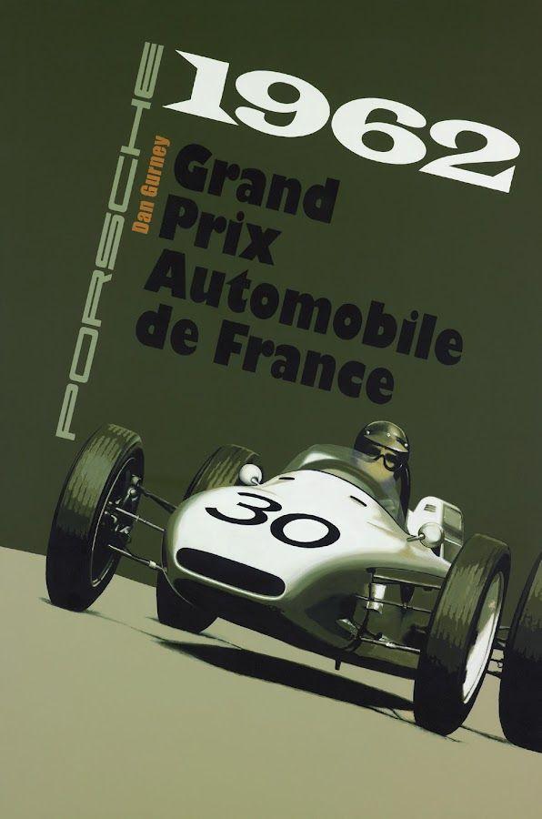 1962 grand prix automobile de france by thierry nou for Garage porsche rouen