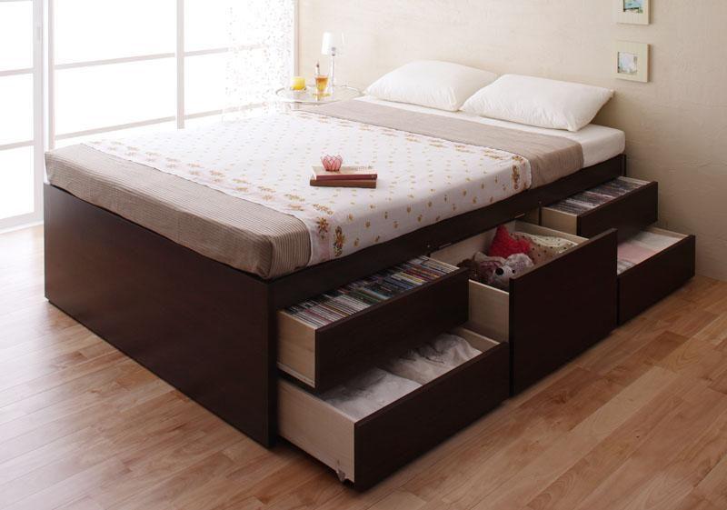 収納力があるベッド部門第一位【Tanto】 ワンルーム、6畳からのインテリア通販サイト moonday(ムーンデイ)