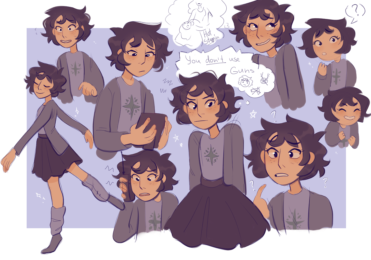 Artblog Of Adrienne Garcia Faq Lead Animator For Hiveswap Also Works On Neokosmos And Other Fan Character Design Homestuck Character Design Inspiration