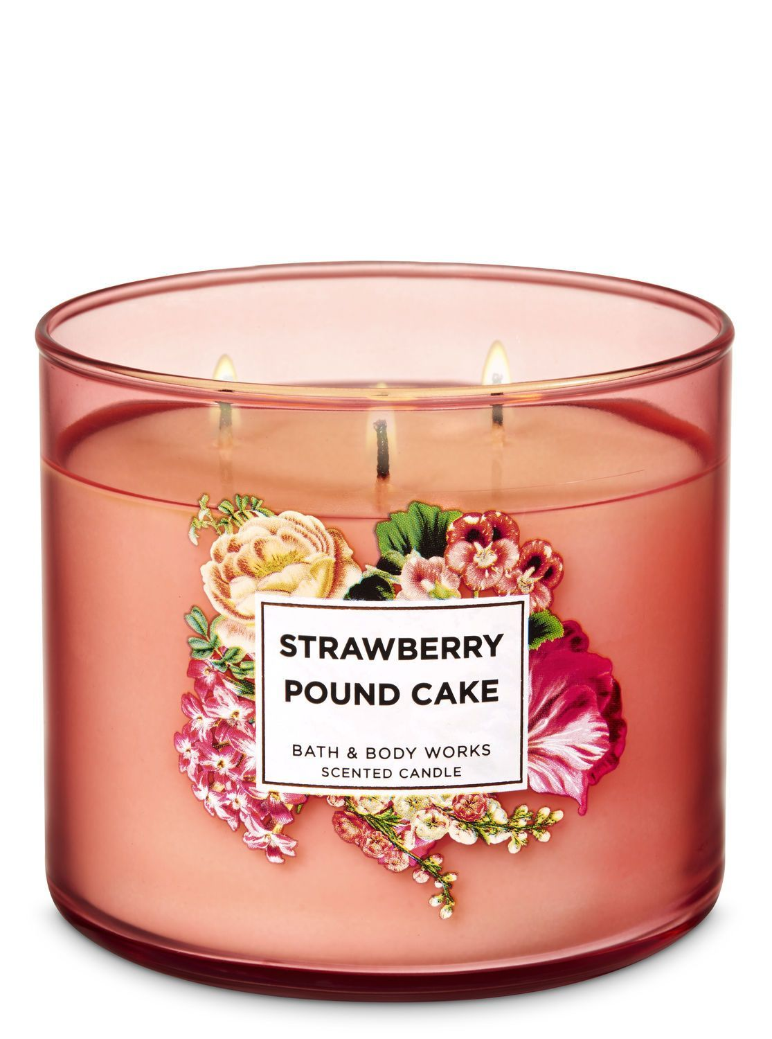 strawberry pound cake candle review