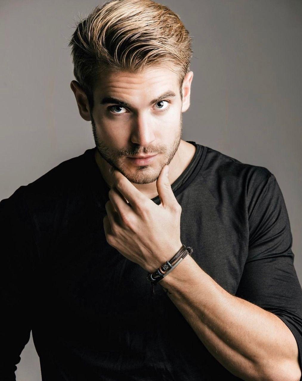 Salazar Photography Poses For Men Blonde Male Models