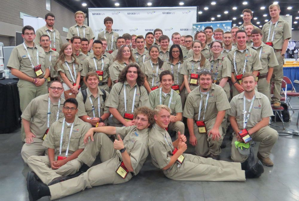 SME Announces the 2016 Winners of the SkillsUSA Additive
