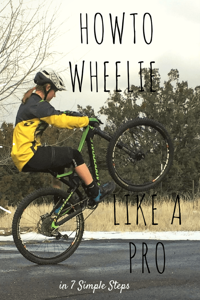 How To Wheelie Mountain Bike