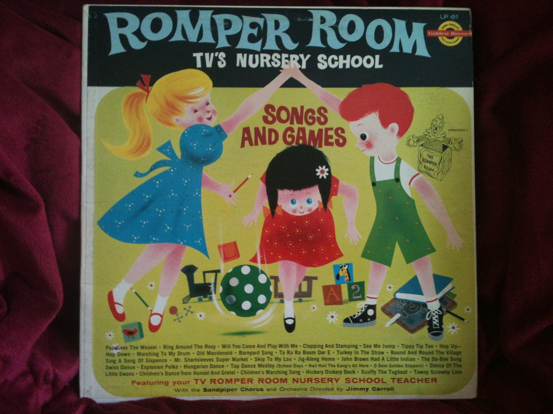 Romper Room Tv S Nursery School Record 1967 At Kids Of Kamington Vintage Wares 10 00