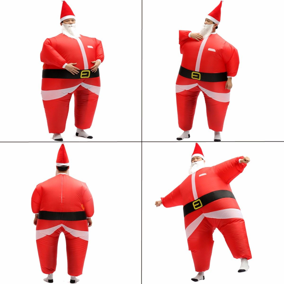 Airsuits Inflatable Santa Father Christmas Fancy Dress Costume Air