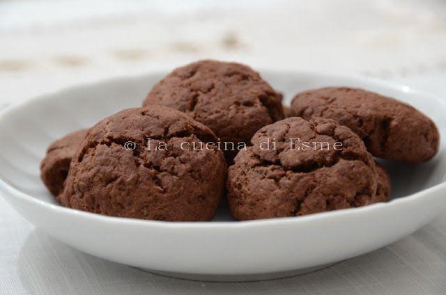 biscotti cioccolato e ricotta... io adoro la ricotta!