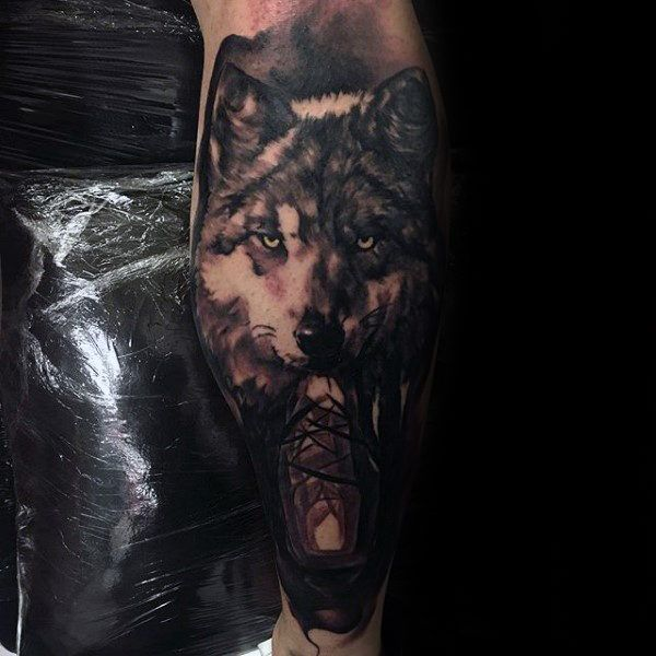 100 Forest Tattoo Designs For Men Masculine Tree Ink Ideas Tatoo