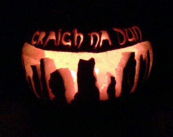 Haunted Halloween Stencil A4//A5//A6