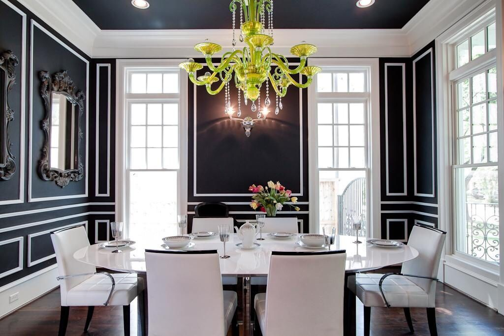 Contemporary dining rooms Pin by ATELIER 01