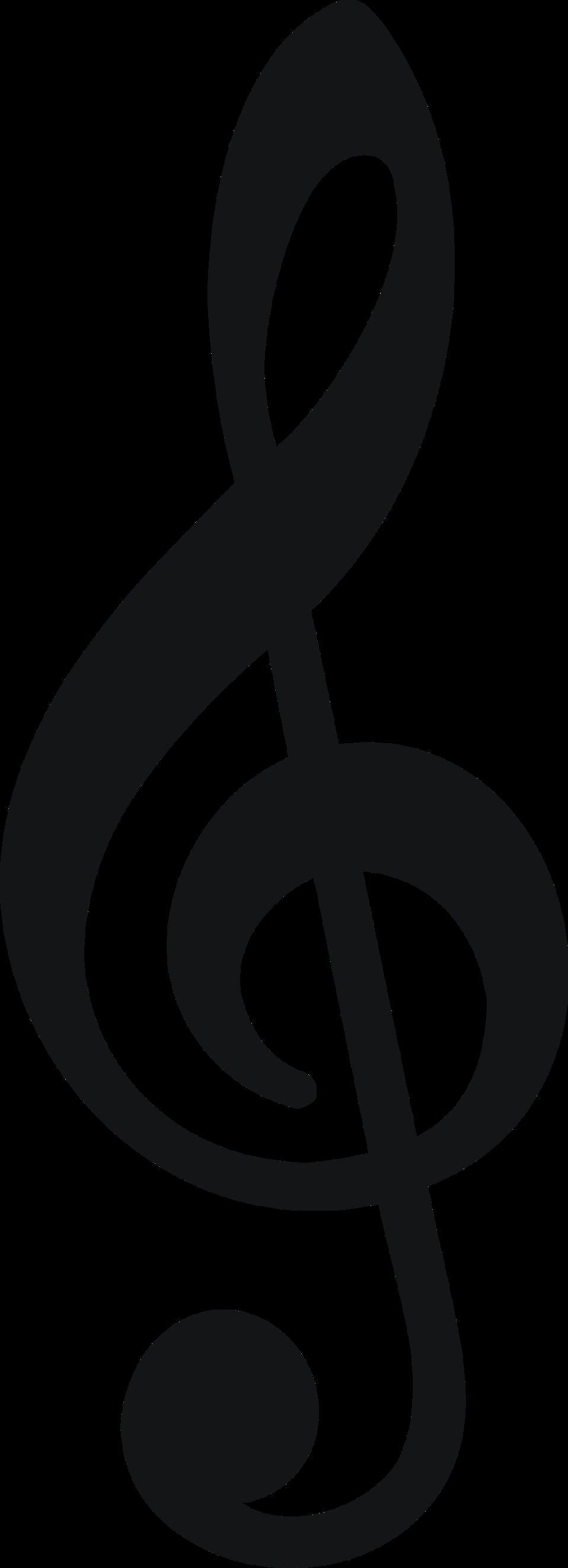 Free Stock Photos Illustration of a treble clef
