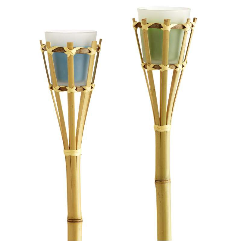 Tiki Torches Turns Any Outdoor Space Into A Tropical Paradise! Citronella Candle  Stakes Give Your