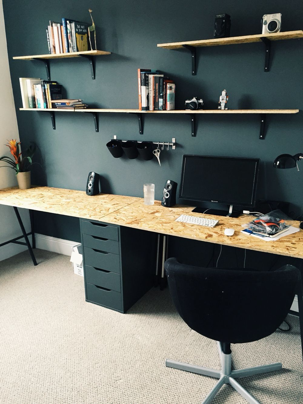 30 incredibly organized creative workspace ideas office home rh pinterest com