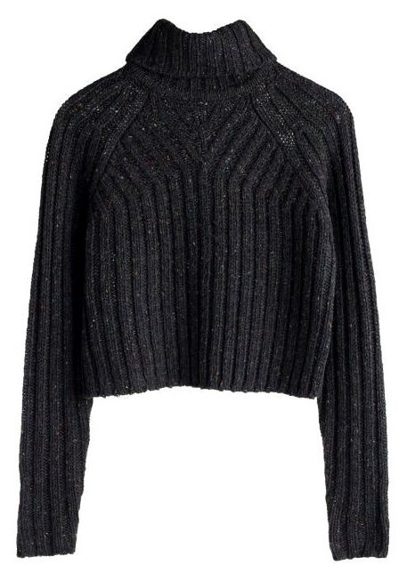 addicted to cropped knits