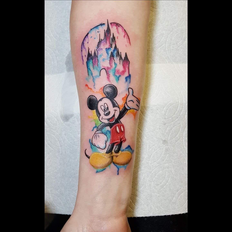 Photo of 64 wunderbare Disney Tattoo Ideen für Disney Liebhaber – TATTOOS