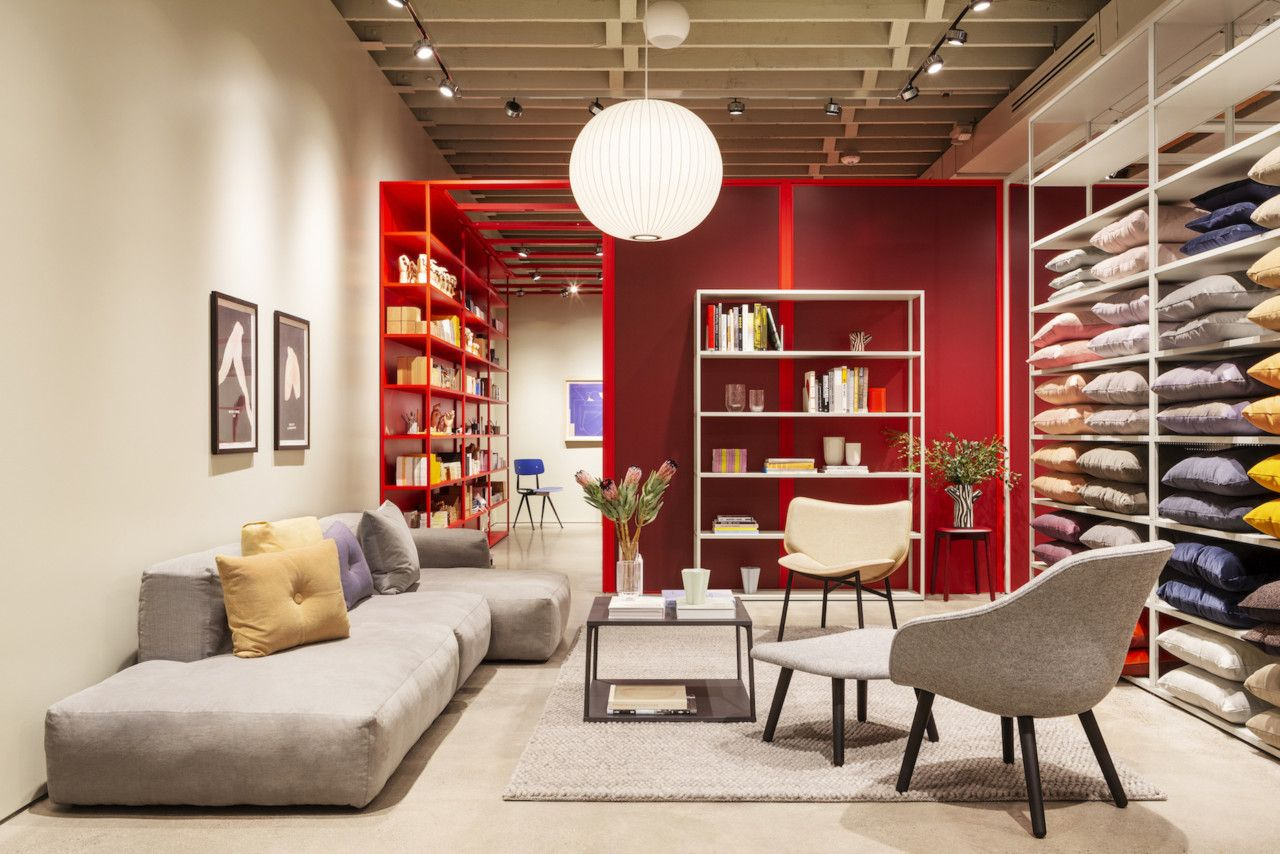 Portland Welcomes Hay S First Brick And Mortar Store In The Us Modern Home Furniture Home Home Accessories