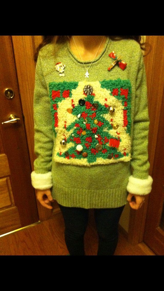Ugly Christmas Sweeeeeeter.