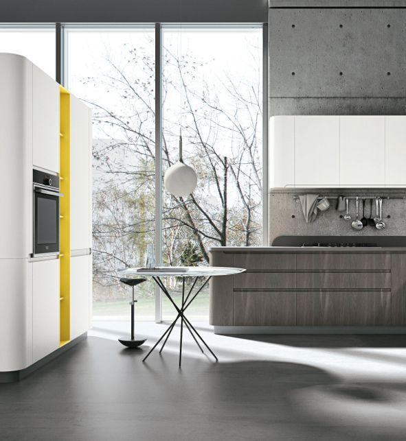 Stosa Cucine: nuove finiture per Bring Armonia nelle forme e linee ...