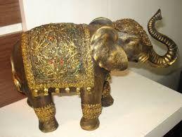 Resultado de imagem para elefante em gesso