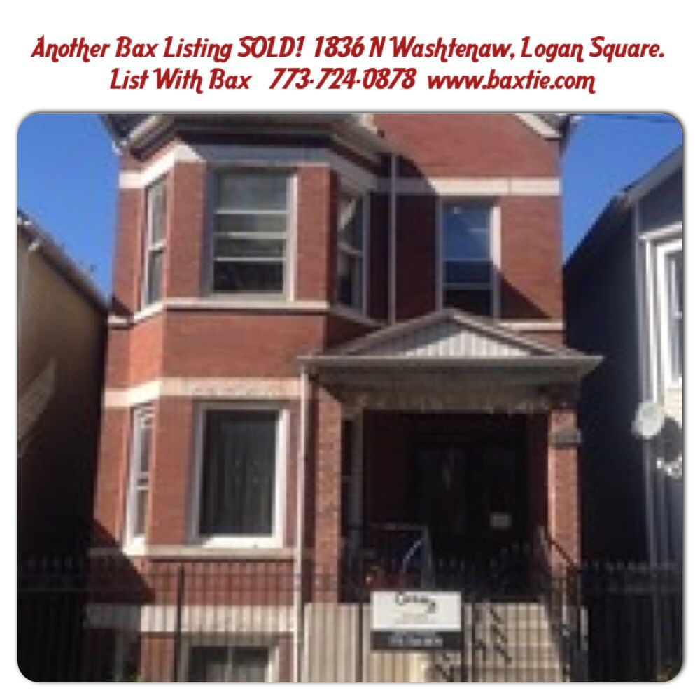 SOLD! Logan Square. I market to sell, that's what I do