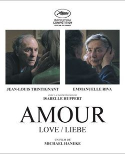 French Foreign Film - Amour (LOVE).  A simple story about love and life.  Makes you think.  Good moive.