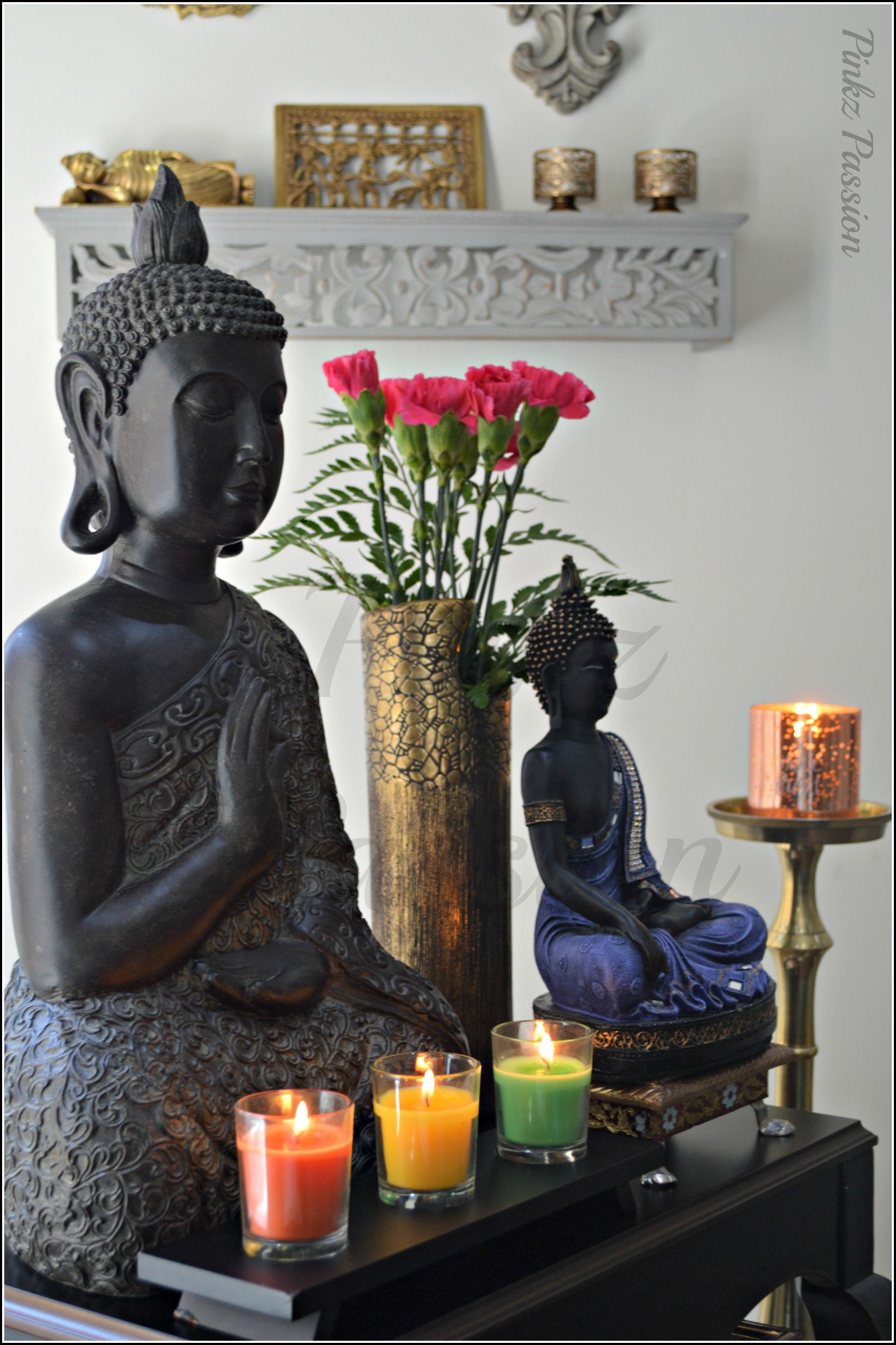 Buddha Decor Buddha Vignette Calming Vignette Serene Buddha Buddha Statues Indian Decor Buddha Decor Buddha Home Decor Buddha Living Room