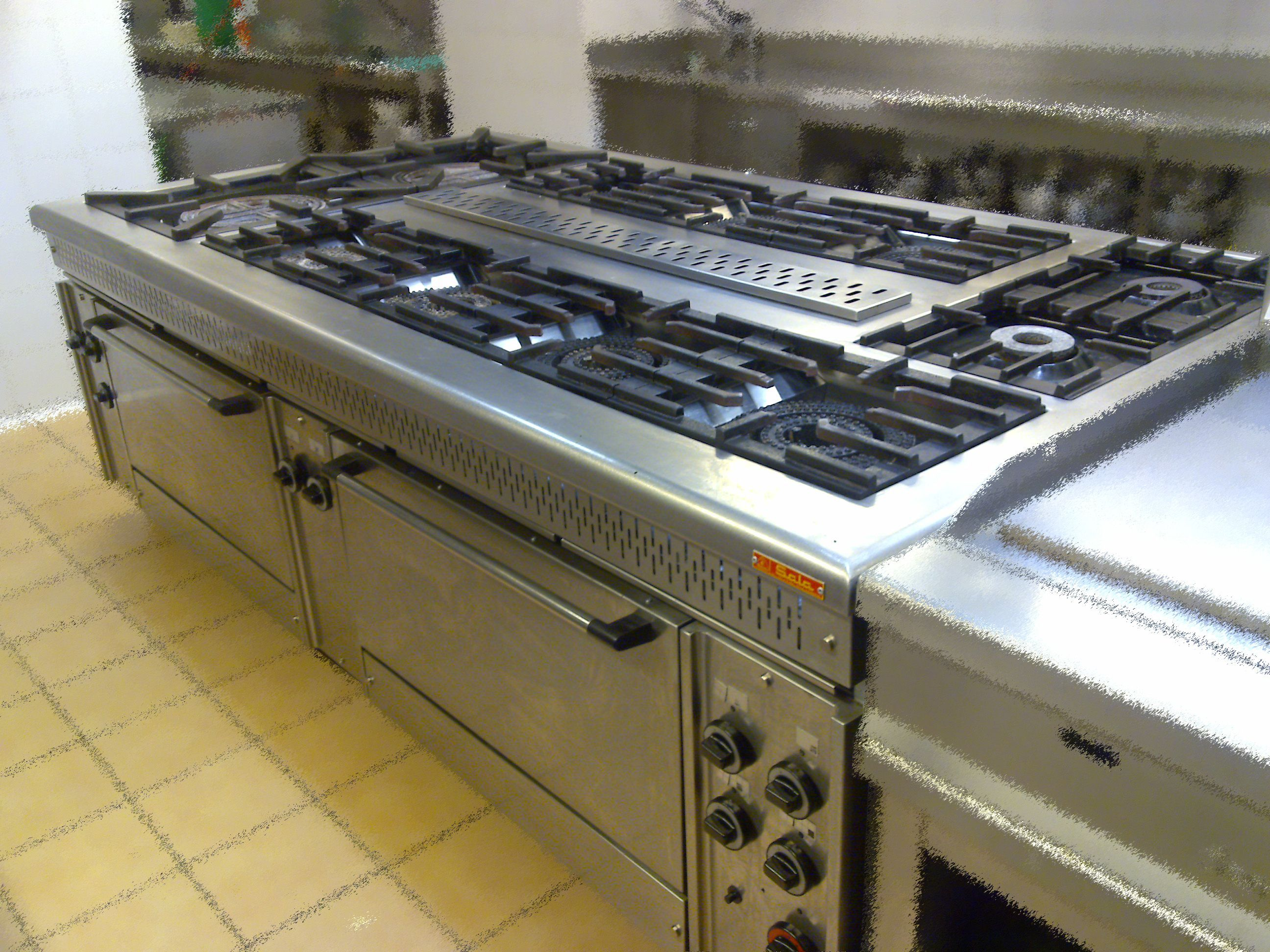 Cocina industrial instalaci n de cocinas industriales for Todo para cocinas industriales