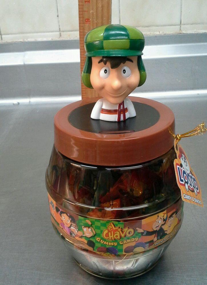 El Chavo Del Ocho Gummy Candy Bank New Collector S Item El Chapulin