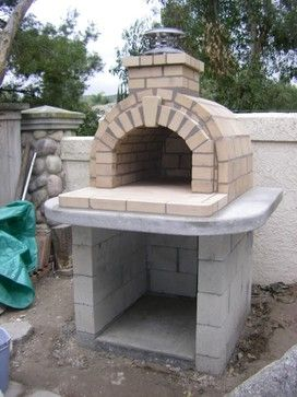 We would LOVE a Backyard Pizza Oven.... Plans Design Ideas ...