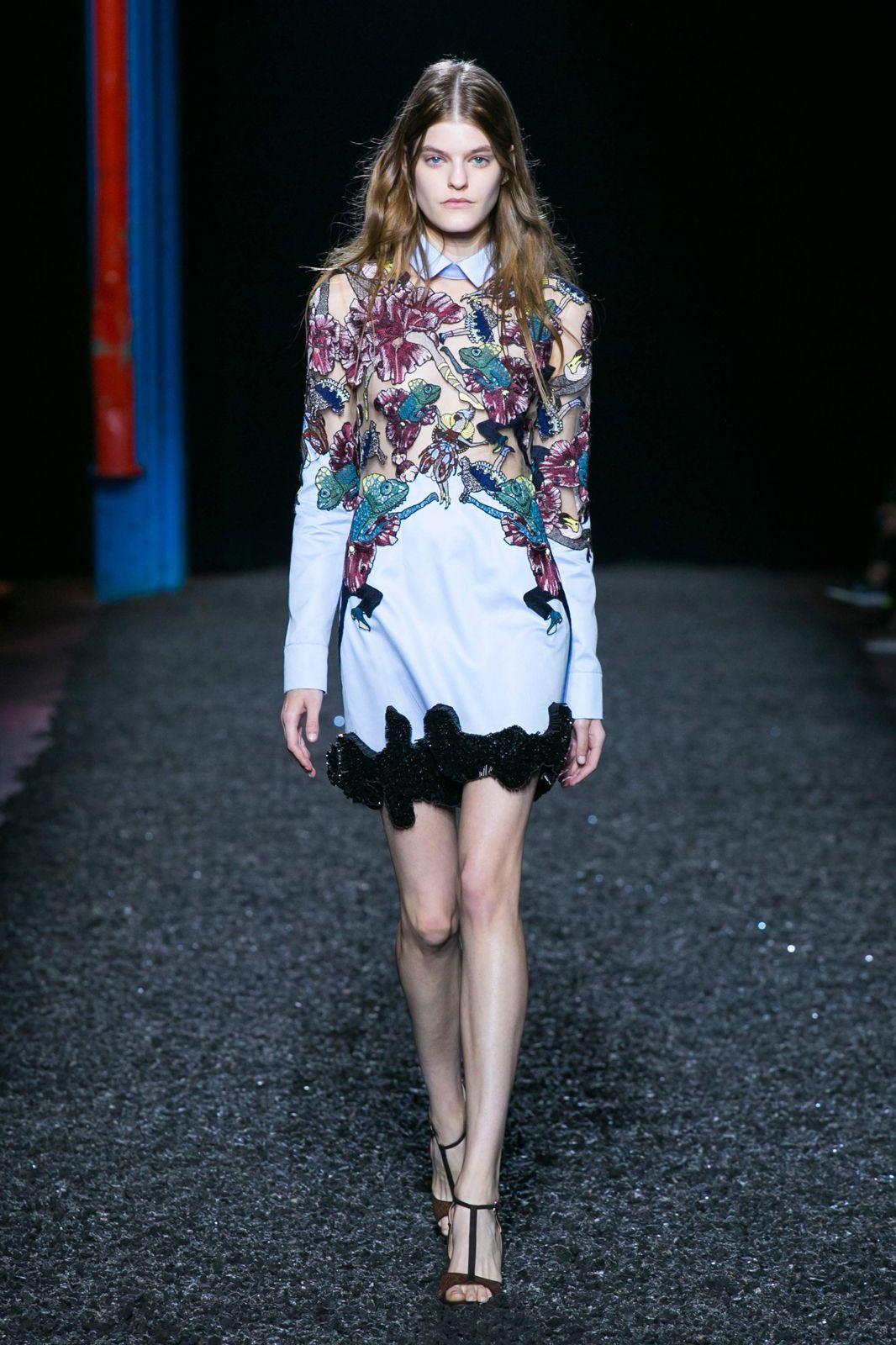 The prettiest dresses from fashion week mary katrantzou dress