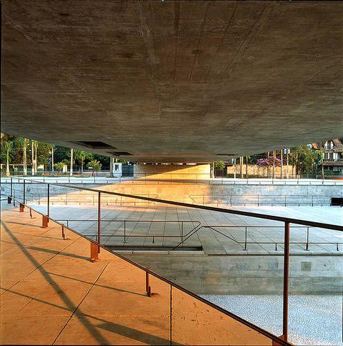 1988: Brazilian Museum of Sculpture in São Paulo,Brazil  Paulo Mendes da Rocha,Architect