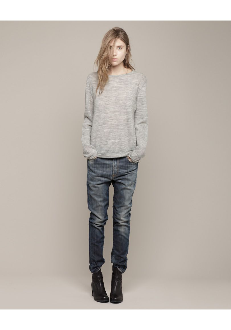 How to skinny wear slouch jeans pictures
