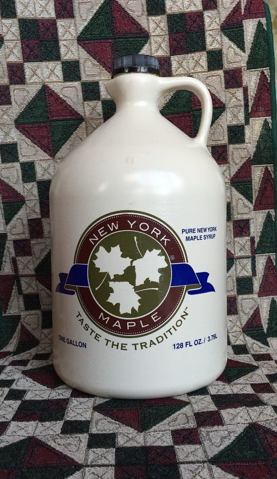Maple Syrup One Gallon New York Grade A 100% by DeGoliersMaple