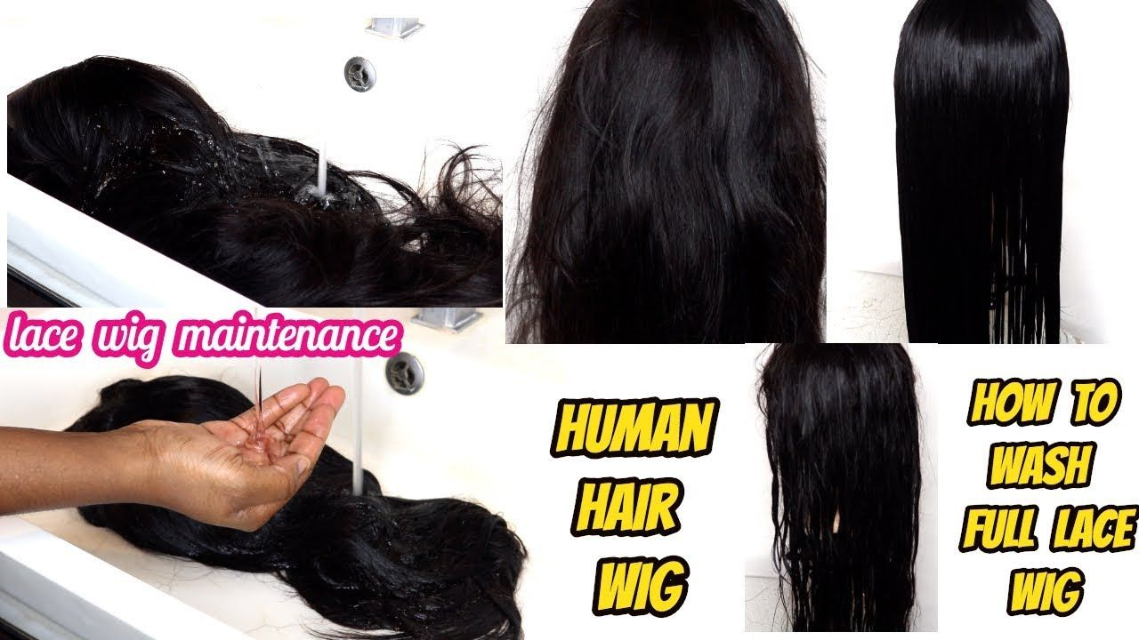 HOW I WASH MY VIRGIN HAIR WIG Lace Frontal Wig