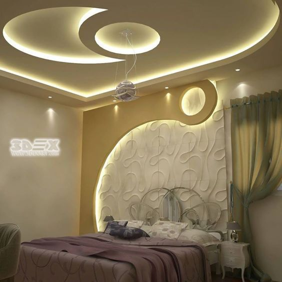 Modern Gypsum Board Design For False Ceiling And Wall For