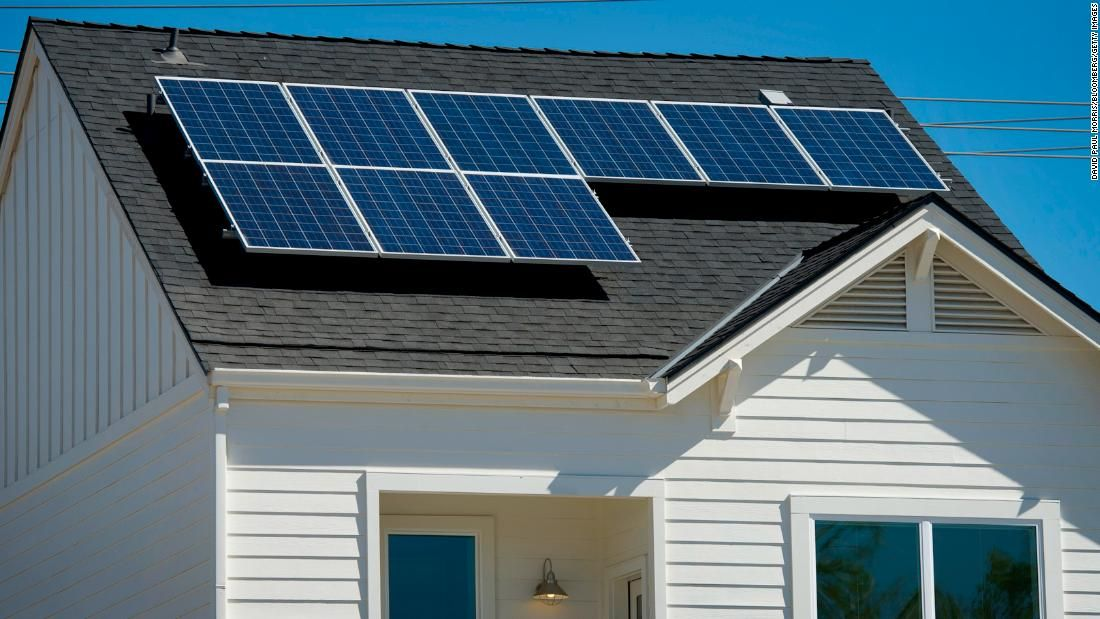 California May Become The First State To Require Solar Panels On New Homes Cnn Solar Panels Solar Power House Solar