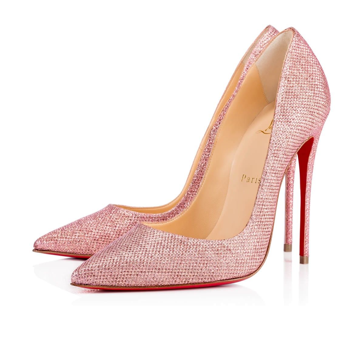 christian louboutin sparkly heels shoes