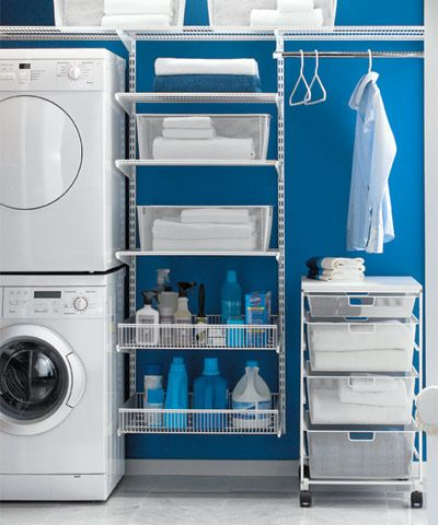 Great list for keeping the home clean and organized, and a beautiful laundry room