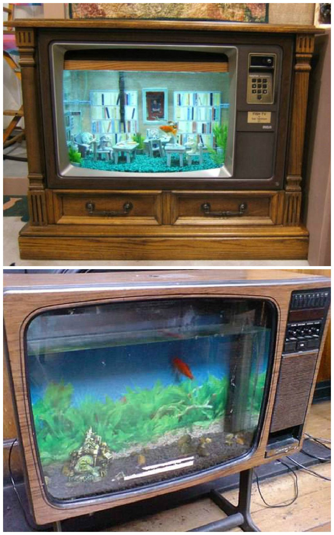 How exactly to Convert A Vintage Television Right Into A Aquarium