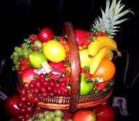 Georgia Peach Package includes: Fresh fruit, assorted