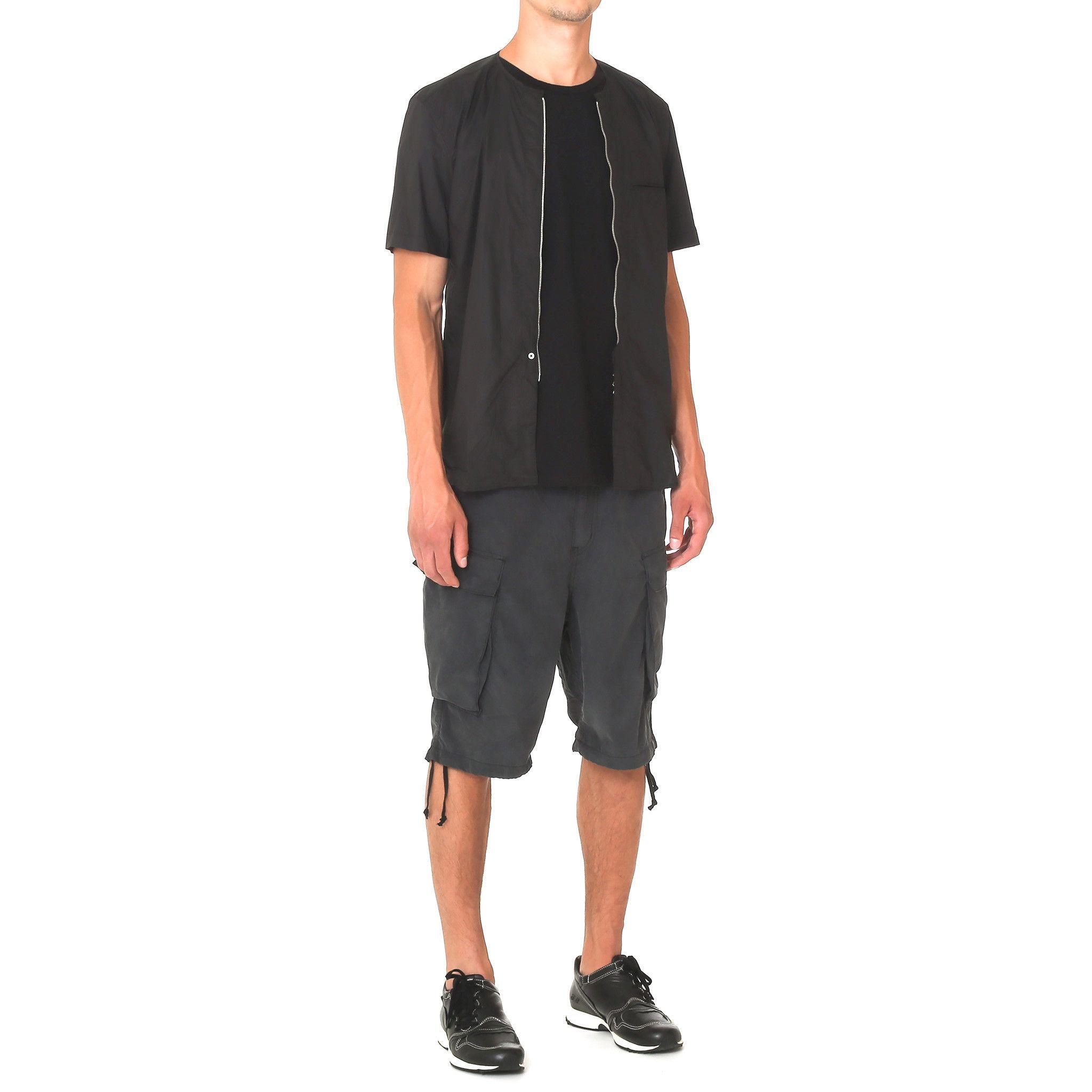 nonnative Trooper Shorts - C/P Weather Cloth Black